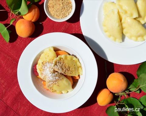 Meruňkové bramborové taštičky