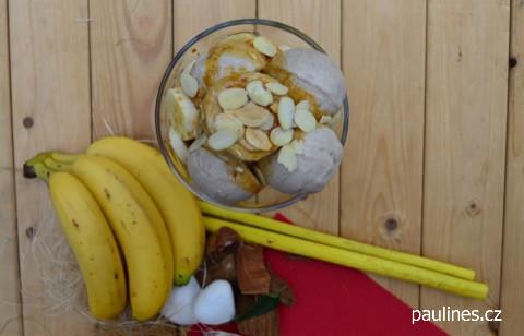 Kořeněný banánový sorbet