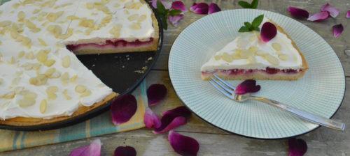 Linecký malinový koláč