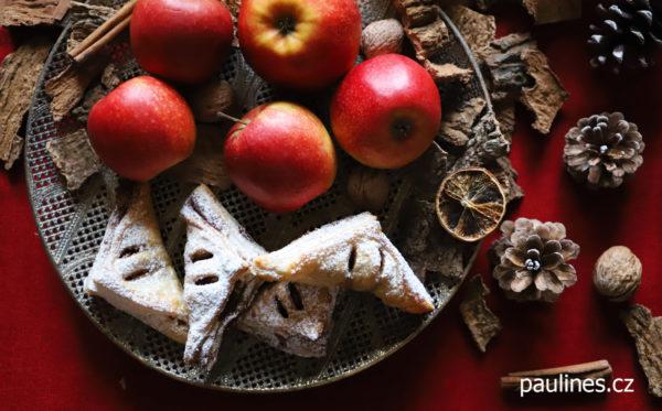 Listové jablečné šátky