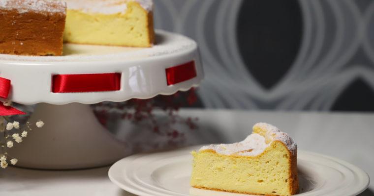 Vláčný koláč z Ricotty