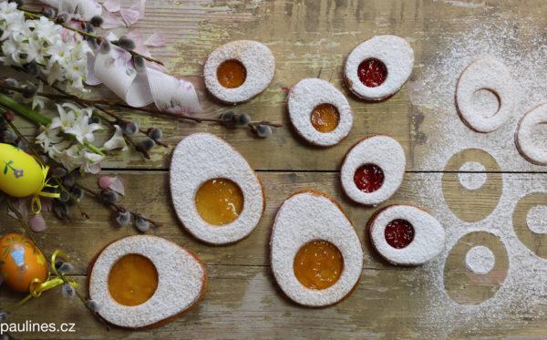 Velikonoční linecká vajíčka