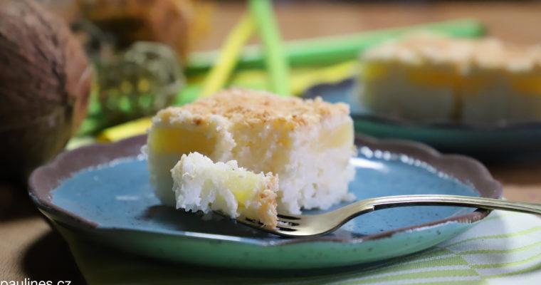 Rýžový koláč s ananasem