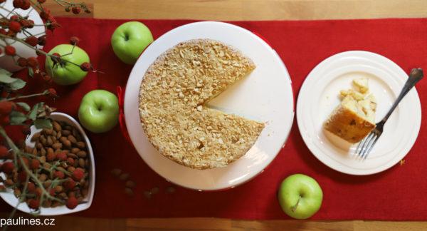 Jablečný koláč z rohlíků